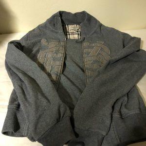 Burberry Zippered Sweater .